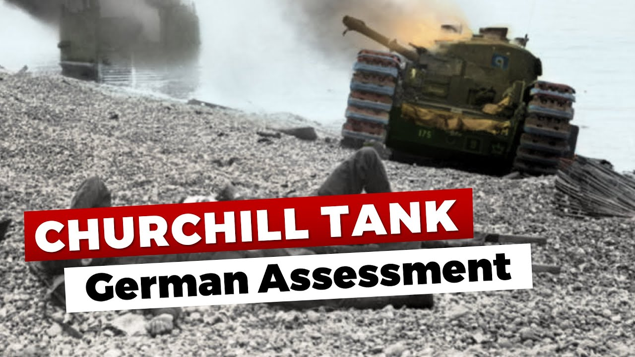 German Thoughts on the Churchill Tank