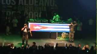 PASAME EL TABACO Y RON- LOS ALDEANOS 2012 . DJ MUGGS?