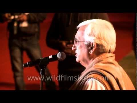 Salman Khurshid, speaking at South Asian Band Festival 2012