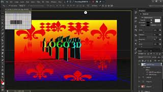 How To Make 3D Text In  Photoshop Cs6 Hindi/Urdu By Zuck Tech