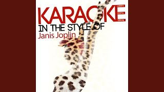 Get It While You Can (Karaoke Version)
