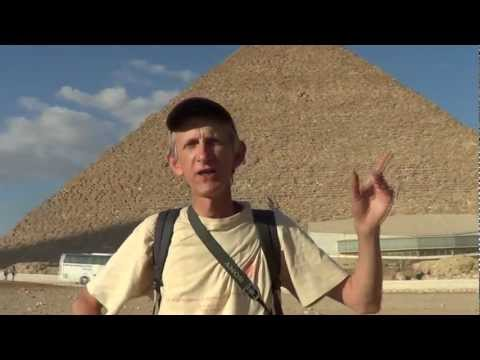 Pyramids in Cairo in Egypt are Observed by Entomologist  (ENG)