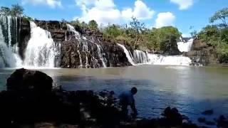 Água, meio ambiente, natureza,Cachoeira sete quedas, Rio São Francisco, Quirinópolis-GO/Brasil.
