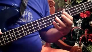 """Bass cover: Hermanos Lebrón """"Salsa y control""""."""