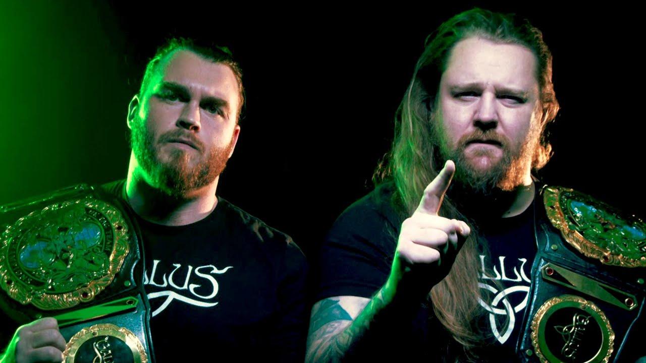 WWE - Gallus defend their kingdom against Pretty Deadly tomorrow on NXT UK