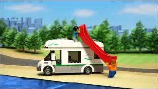 Rulota de camping LEGO City (60057)