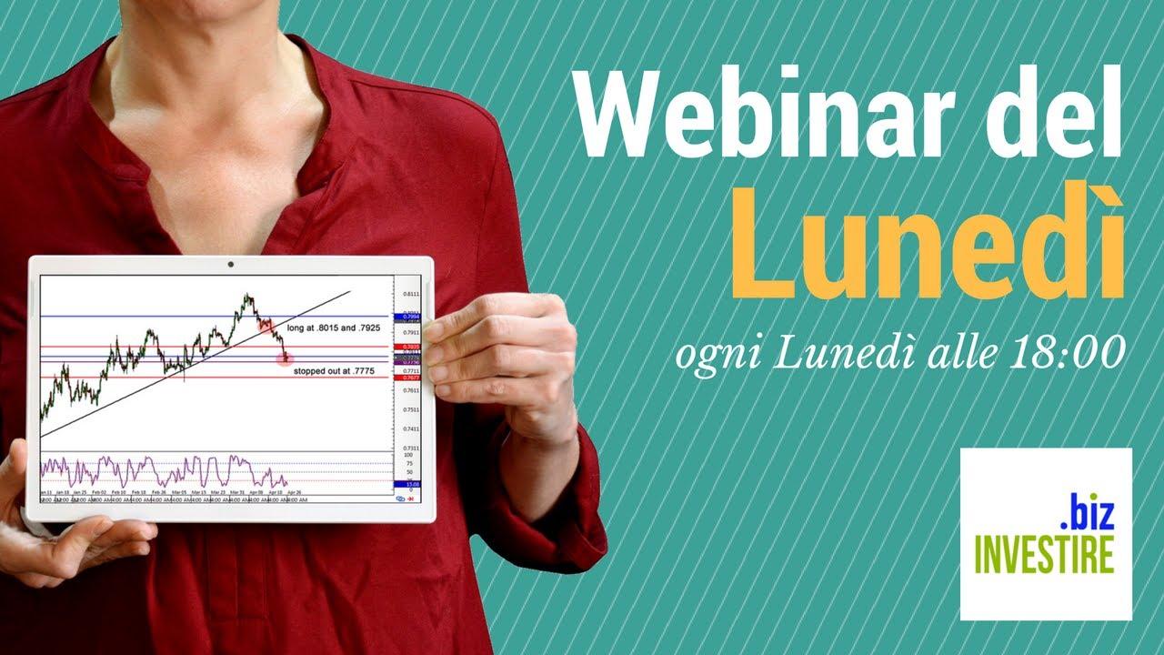 Webinar del Lunedì - Speciale Azioni Italiane
