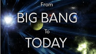 Timeline of Universe (Big Bang to Today) width=