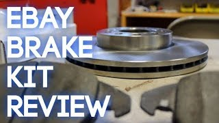 eBay Brake Kit Review! (R1 Concepts eLine Pads and Rotors)