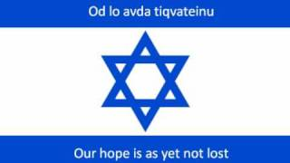 Hatikva Transliteration AND Translation