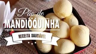 PÃO DE MANDIOQUINHA (Batata Baroa)- FALSO PÃO DE QUEIJO | Mamãe Vida Saudável #73
