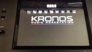 Update Korg Kronos OS 3.04 Step By Step