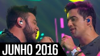 Top 10 - Músicas Sertanejas Mais Tocadas - JUNHO 2016