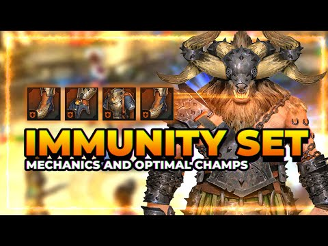 IMMUNITY Set | Mechanics and Optimal Champs! | RAID Shadow Legends