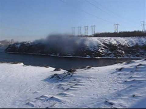 06.02.2010 Zaporizhzhja,Ukraine,Dnieper river…2.wmv