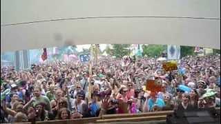 Schlepp Geist (live) @ Fusion Festival 2013  - Tanzwiese Opening