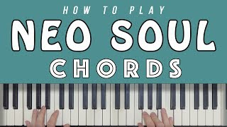 Neo Soul Chord Progression EXPLAINED! width=
