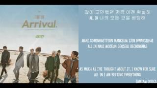 Never Ever - GOT7 Lyrics [Han,Rom,Eng]