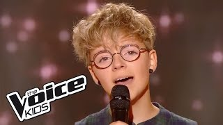 Skinny love - Birdy | Amandine | The Voice Kids 2017 | Blind Audition