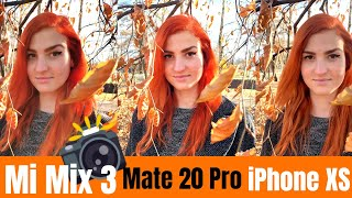 Camera test Xiaomi Mi Mix 3 vs Huawei Mate 20 Pro vs Apple iPhone XS Max