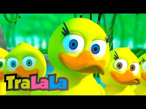 Cinci rățuște (Five Little Ducks) - Cântece pentru copii