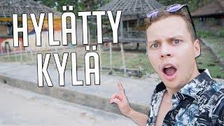 YKSIN HYLÄTYSSÄ KYLÄSSÄ INDONESIASSA!