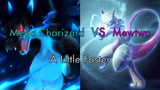 Mega Charizard Vs Mewtwo AMV! A Little Faster (Nightcore)
