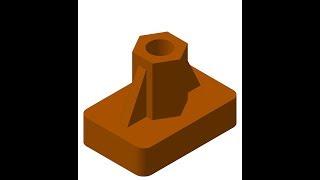 Видеоуроки Компас 3D V17. Построение модели по описанию в Компас 3D
