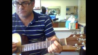 "How to play ""Thinking Out Loud"" by Dylan Scott on acoustic guitar"