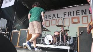 """Real Friends """"I Don't Love You Anymore"""" live Houston @ Vans Warped Tour 2016"""