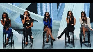 "Fifth Harmony ""A Thousand Years"" - Live Week 2 - The X Factor USA 2012"