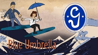 Blue Umbrella animation music video