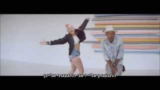 Pharrell Williams Feat. Miley Cyrus - Come Get It Bae Hebsub / מתורגם