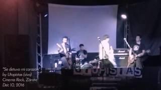"""""""Se detuvo mi corazón"""" - Utopistas (vivo)"""