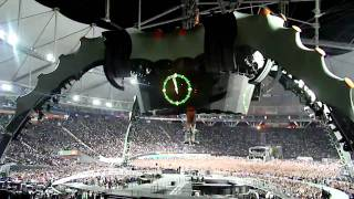 U2 360 Tour La Plata ARG  Soda Stereo - De Musica Ligera (HQ SOUND)