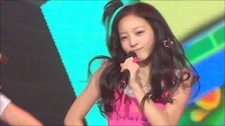 【TVPP】KARA - Rock U, 카라 - 락 유 @ Comeback Stage, Show Music Core Live