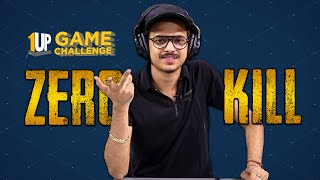 Zero Kill Challenge with 8Bit Thug | 1Up Game Challenge | PUBG Mobile