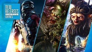 Mass Effect Andromeda, Mario Sports Superstars, Zero Escape - New Releases