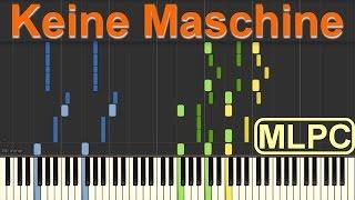 Tim Bendzko - Keine Maschine I Piano Tutorial by MLPC