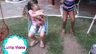 Diversão com a baby lari