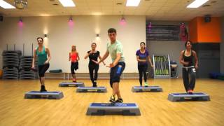 Zumba Step Enrique Iglesias - There goes my baby ( Pop ) width=