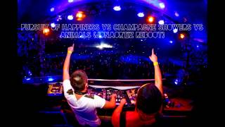 Pursuit Of Happiness VS Champagne Showers VS Animals (JonaOrtiz Reboot) [Free Download]