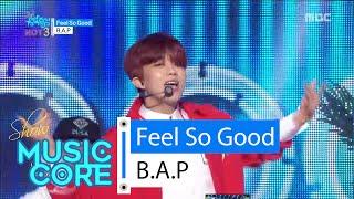 [HOT] B.A.P - Feel So Good, 비에이피 - 필소굿 Show Music core 20160227 width=