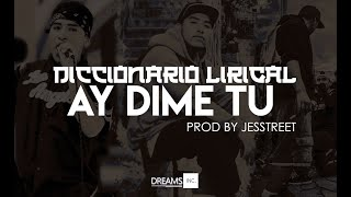 Ay dime tú (Vídeo Lyrics) - Diccionario Lirical & Basel