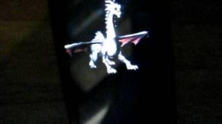 Zune HD openZDK 3D Dragon Model with Lighting