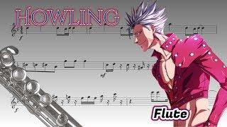 Nanatsu no Taizai: Imashime no Fukkatsu opening - Howling (Flute)
