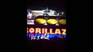 Gorillaz Stylo feat. Bobby Womack Live in Vancouver Nov. 3, 2010