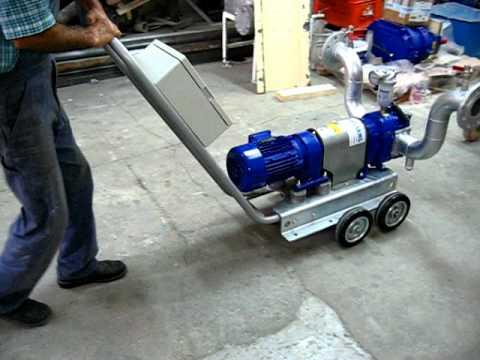 Tekerlekli loblu pompa görüntüsü.AVI