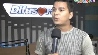 O novo talento da Difusora, Itamar Jardina também convida para a festa da emissora