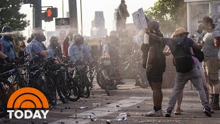 Minneapolis Protests Turn Deadly In Wake Of George Floyd's Death In Police Custody | TODAY